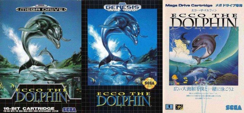 Ecco the Dolphin es un juego de 1992 que tiene como protagonista a un delfín.