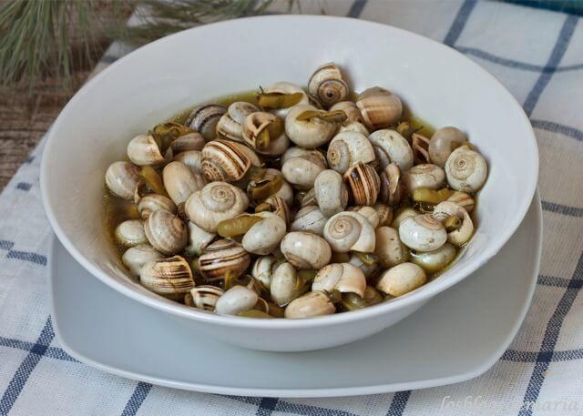 Un plato gastronómico típico en Francia y España.
